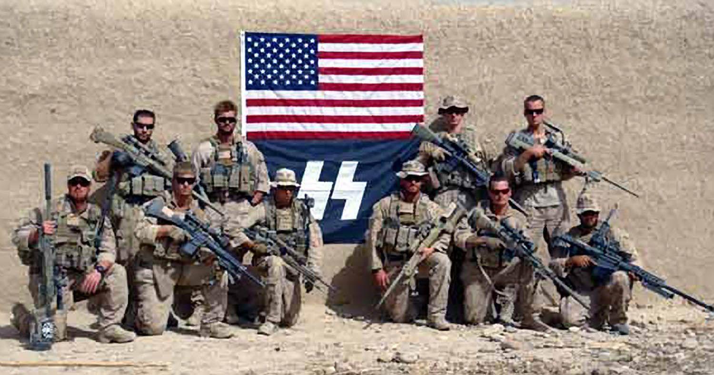 Marines / SS-Flagge