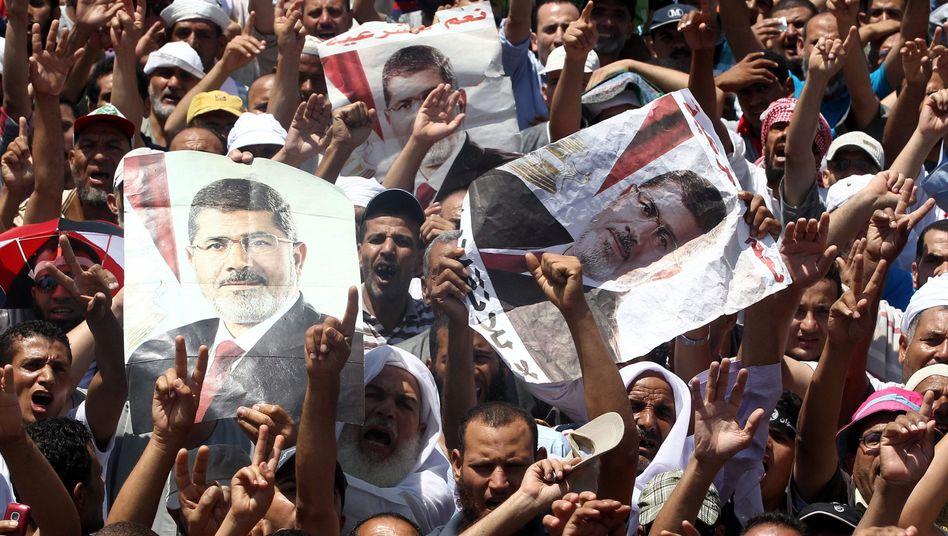 """Anhänger der Muslimbrüder: """"Sisi ist ein Verräter"""""""