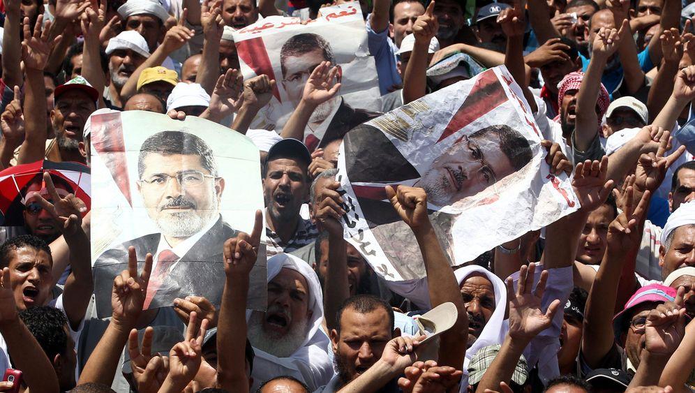 Mursi-Anhänger in Kairo: Leben im Lager