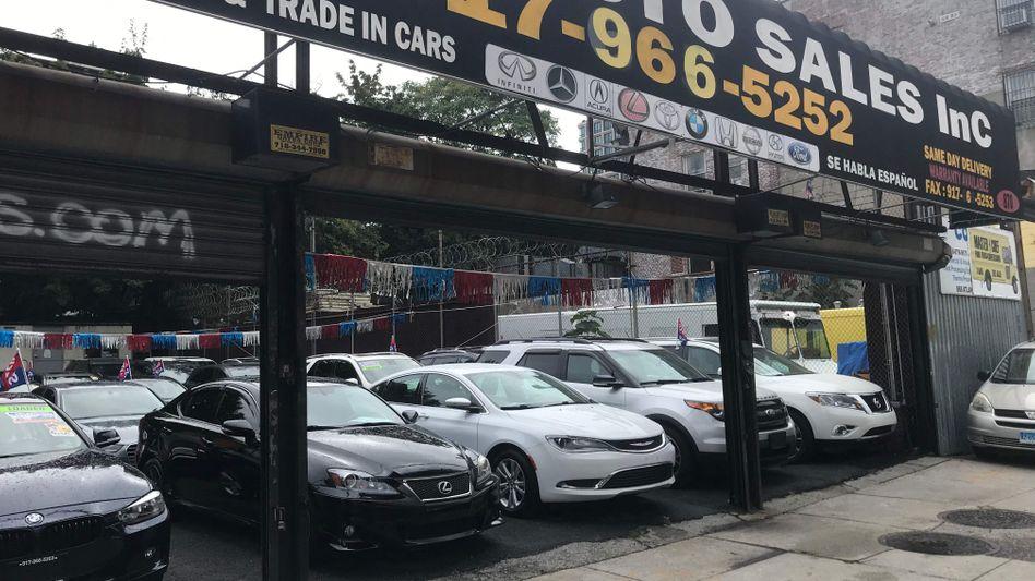 Gebrauchtwagenhändler in New York