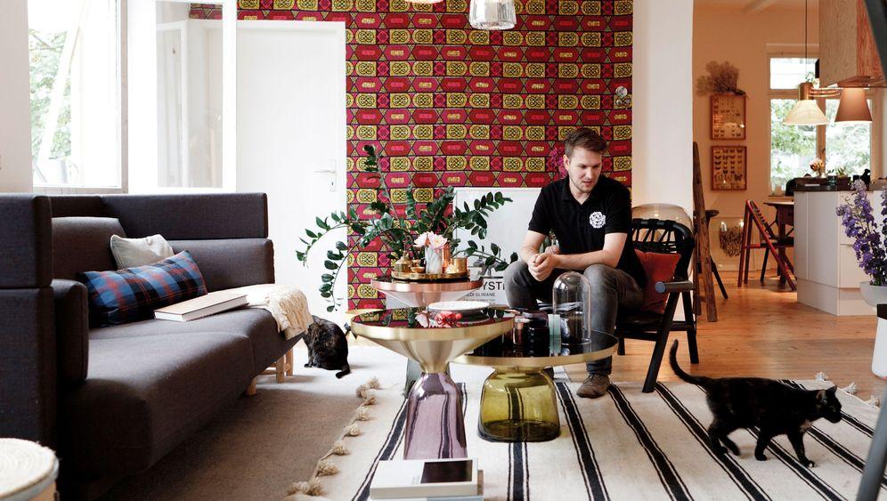 Hausbesuch bei Sebastian Herkner: Alles so schön bunt hier!
