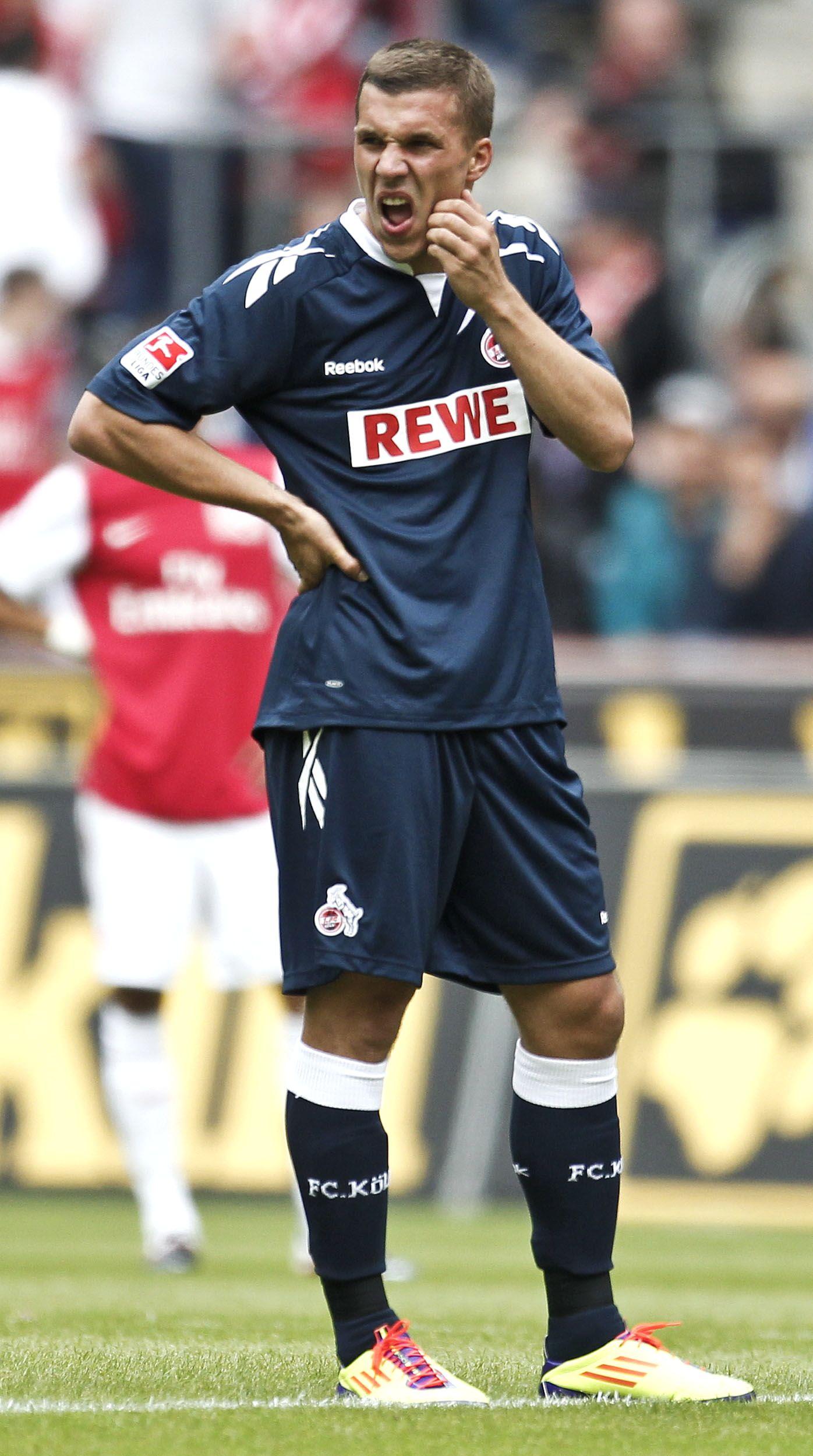 NICHT VERWENDEN Köln Lukas Podolski