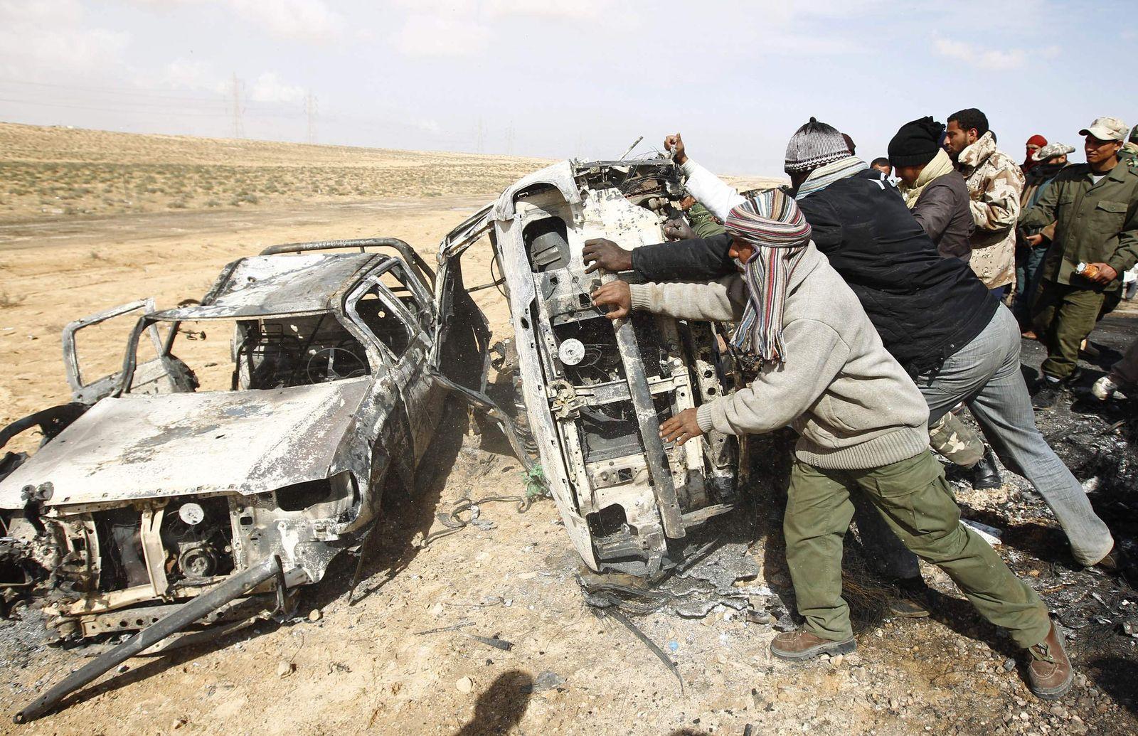 Libyen / Luftagriffe