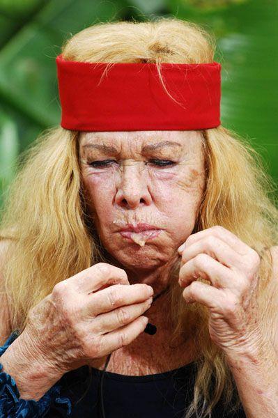 Die Queen speist: Die Zuschauer kürten Ingrid van Bergen zur Dschungelkönigin