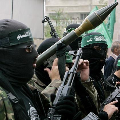 Hamas-Kämpfer im Gaza-Streifen: Raketen auf Israel feuern, um über den Frieden zu sprechen