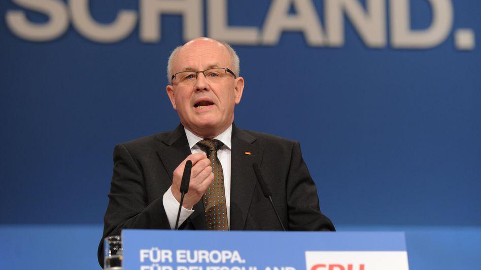 Kauder auf dem CDU-Parteitag: Deutsche Politik als Vorbild für Europa