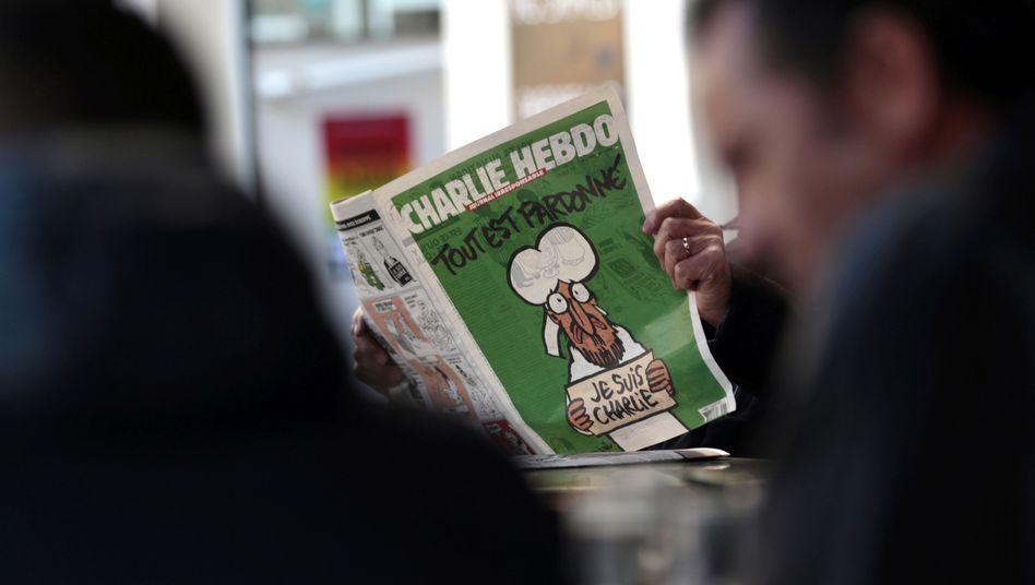 """""""Charlie Hebdo""""-Cover: Kritik von Vertretern des Islam"""