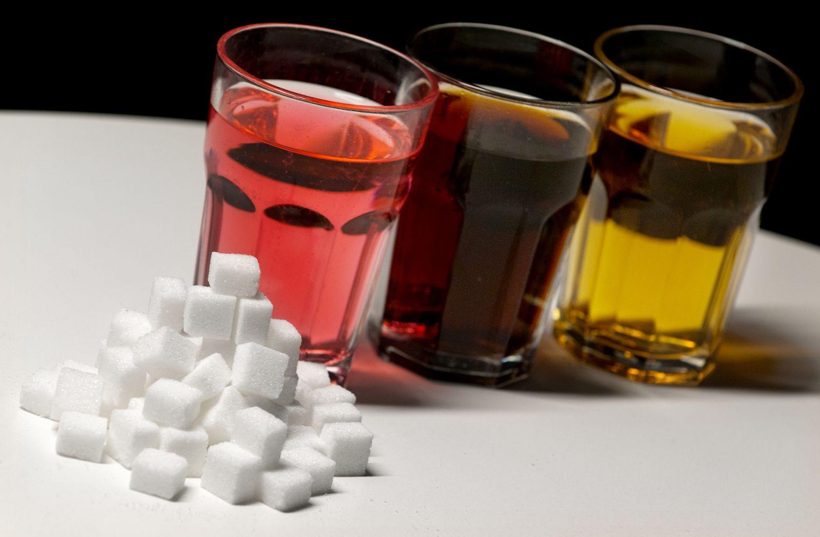 Zuckerhaltige Erfrischungsgetränke / Zucker / Cola