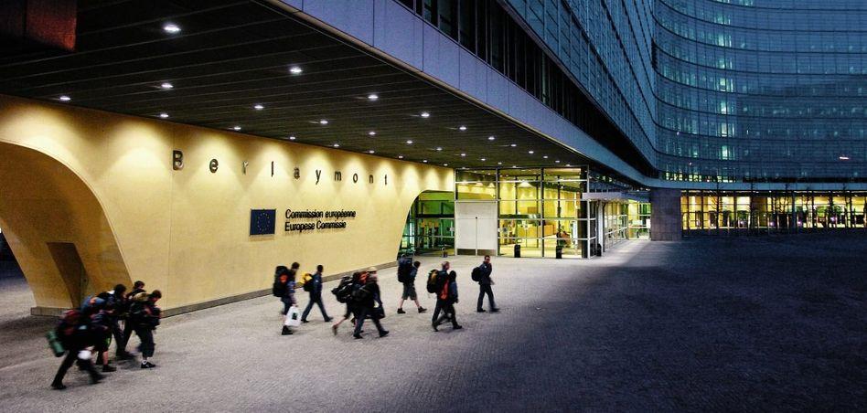Zentrale der EU-Kommission in Brüssel