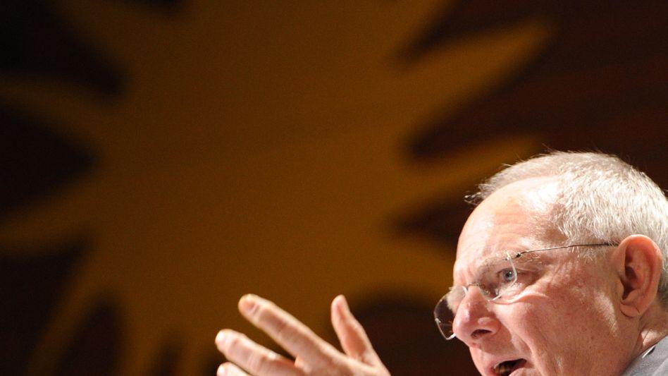 Schäuble beim CDU-Neujahrsempfang: Urteil der Rating-Agenturen nicht überschätzen