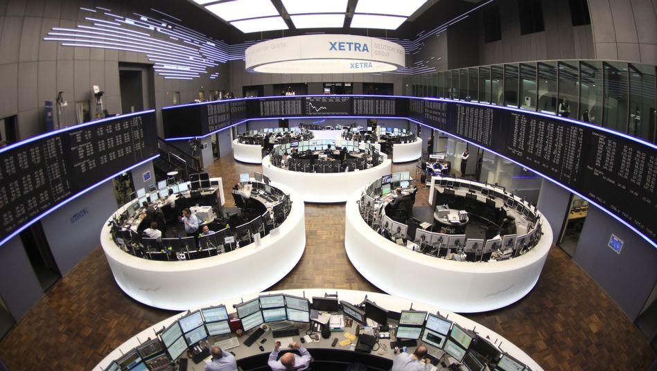 """Deutsche Börse in Frankfurt: """"Die Schwächephase ist überwunden"""""""