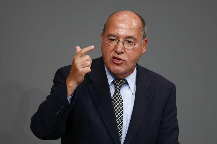 """Linken-Fraktionschef Gysi: """"Das steht uns nicht zu"""""""