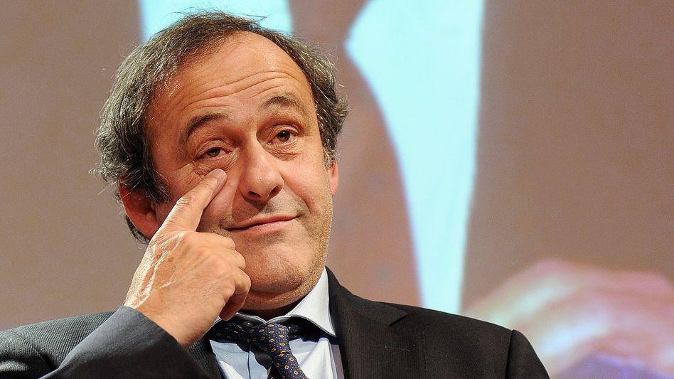"""Uefa-Präsident Platini: """"Ich würde die 50 Millionen lieber in die Entwicklung stecken"""""""