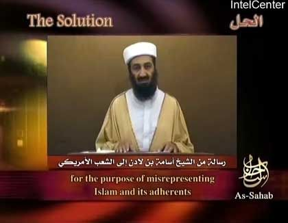 Qaida-Chef Osama Bin Laden: Lob für die Attentäter vom 11. September