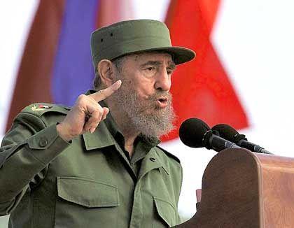"""Kubas Staatschef Castro: """"Die EU tanzt nach Fidels Pfeife"""""""