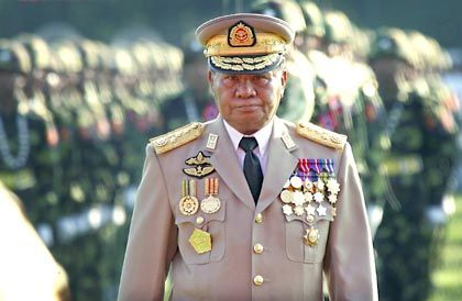 The Burmese junta is led by General Than Shwe.