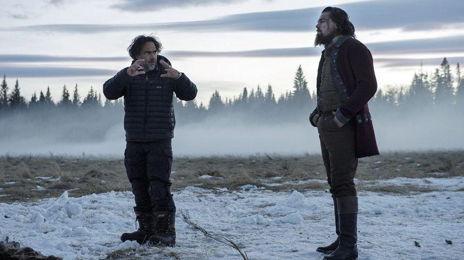 »The Revenant«-Regisseur Iñárritu, Hauptdarsteller DiCaprio: »Überleg dir gut, ob du mit einem verrückten Mexikaner in die Eiswüste ziehst«