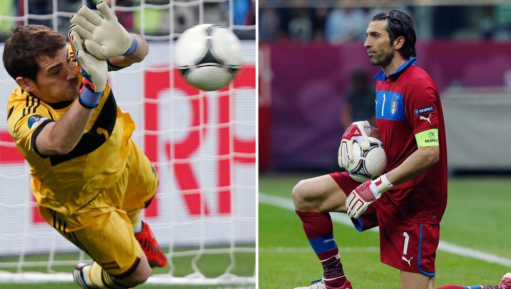 Spanien vs. Italien: Treffen der Superstars