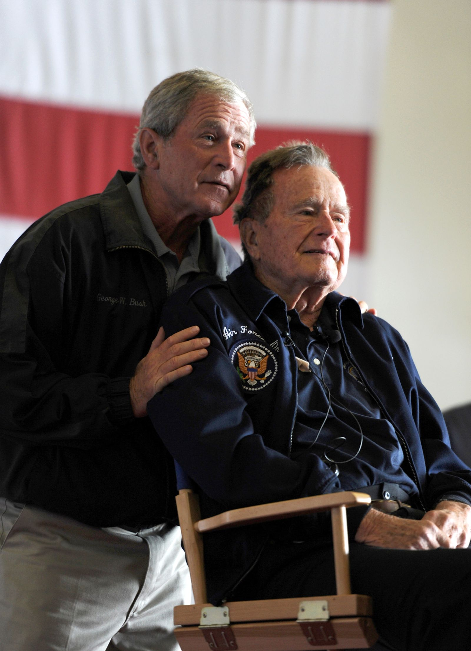 Bush ater und Sohn