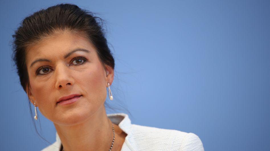 Sahra Wagenknecht, Chefin der Linksfraktion