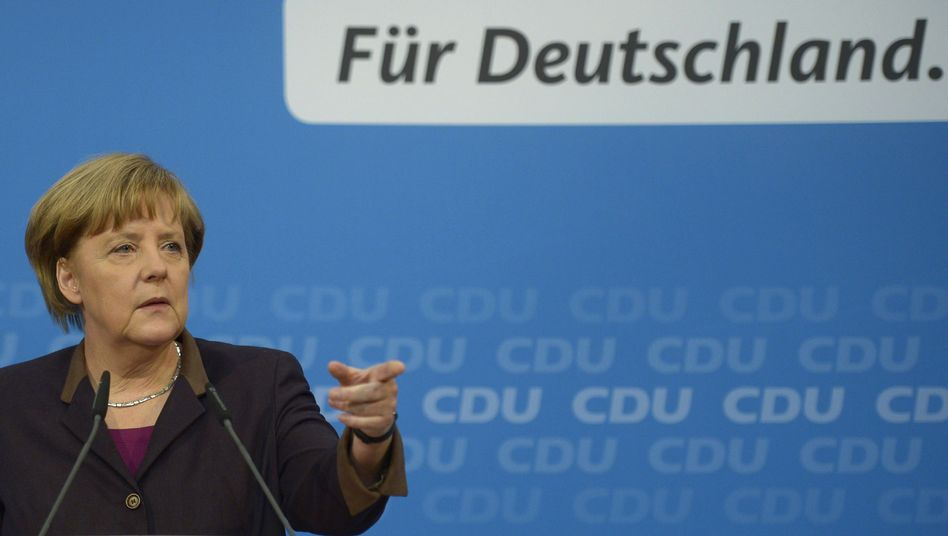 """Kanzlerin Merkel: """"Ich freue mich auf die Zusammenarbeit"""""""