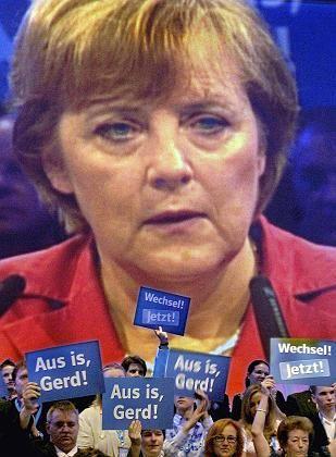 CDU-Chefin Merkel: Vorsprung verspielt