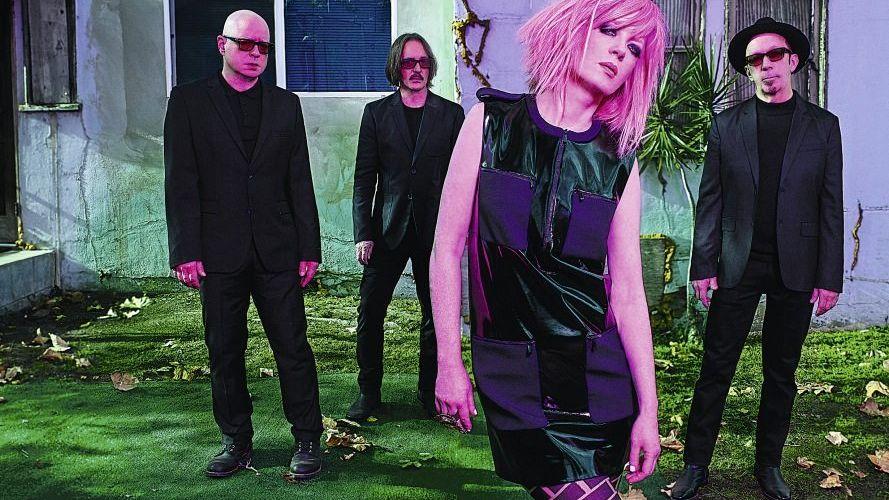 Band Garbage mit Sängerin Shirley Manson