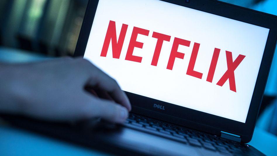Netflix-Logo (Symbolbild): Stellt sich auf weniger Wachstum ein