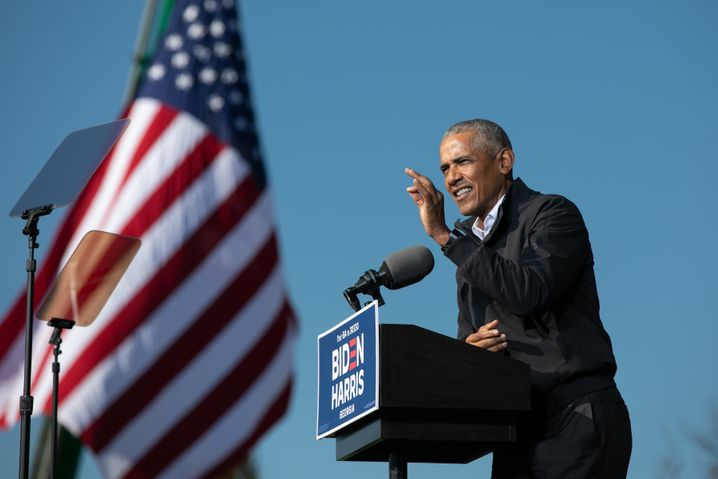 """Former U.S. President Barack Obama: """"Did no one come to his birthday party as a kid?"""""""