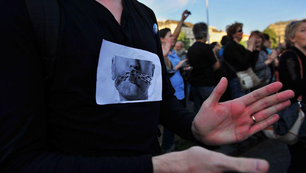 Ungarn: Proteste gegen Mediengesetz