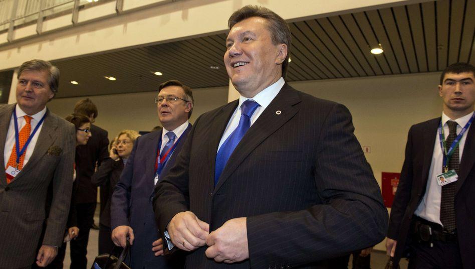Ukrainischer Präsident Janukowitsch: Delikate Details von Eiszeitdiplomatie