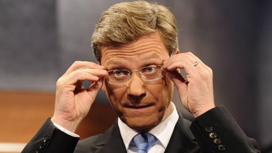 """FDP-Chef Guido Westerwelle: """"Szenen einer Zwangsehe. Scheidung nur durch die Wähler"""""""