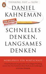 ANZEIGE Daniel Kahneman:Schnelles Denken, langsames Denken Penguin Verlag; 624 Seiten; 14,00 Euro. Bei Amazon bestellen. Bei Thalia bestellen. Produktbesprechungen erfolgen rein redaktionell und unabhängig. Über die sogenannten Affiliate-Links oben erhalten wir beim Kauf in der Regel eine Provision vom Händler. Mehr Informationen dazu hier.