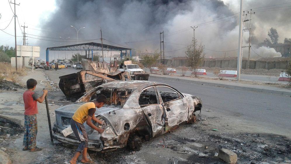 Irak: Hunderttausende fliehen vor Dschihadisten