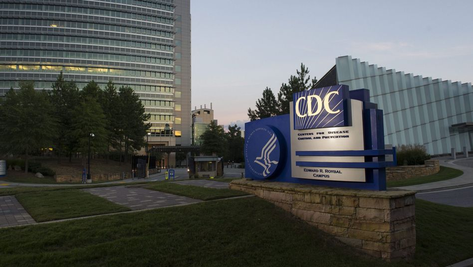 CDC-Gebäude in Atlanta, Georgia