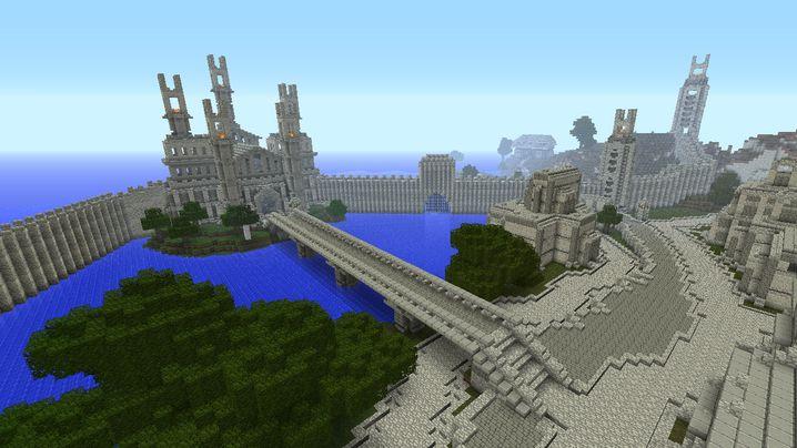 """Mittelerde in """"Minecraft"""": Tolkiens Fantasiewelt in Blockform"""