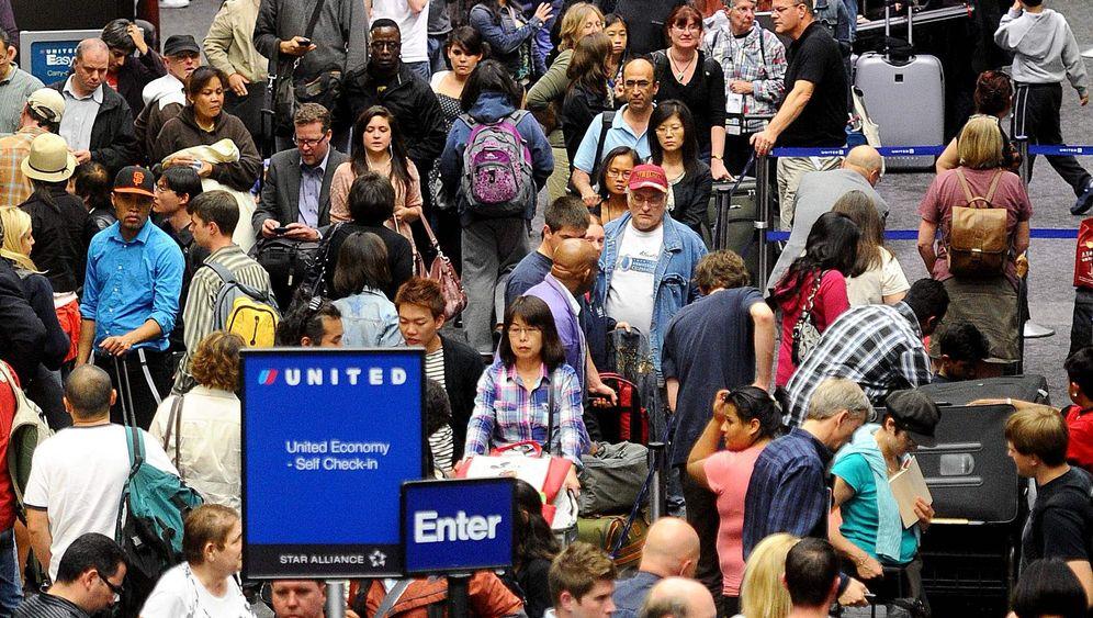 Computerausfall bei United Airlines: Tausende Passagiere gestrandet