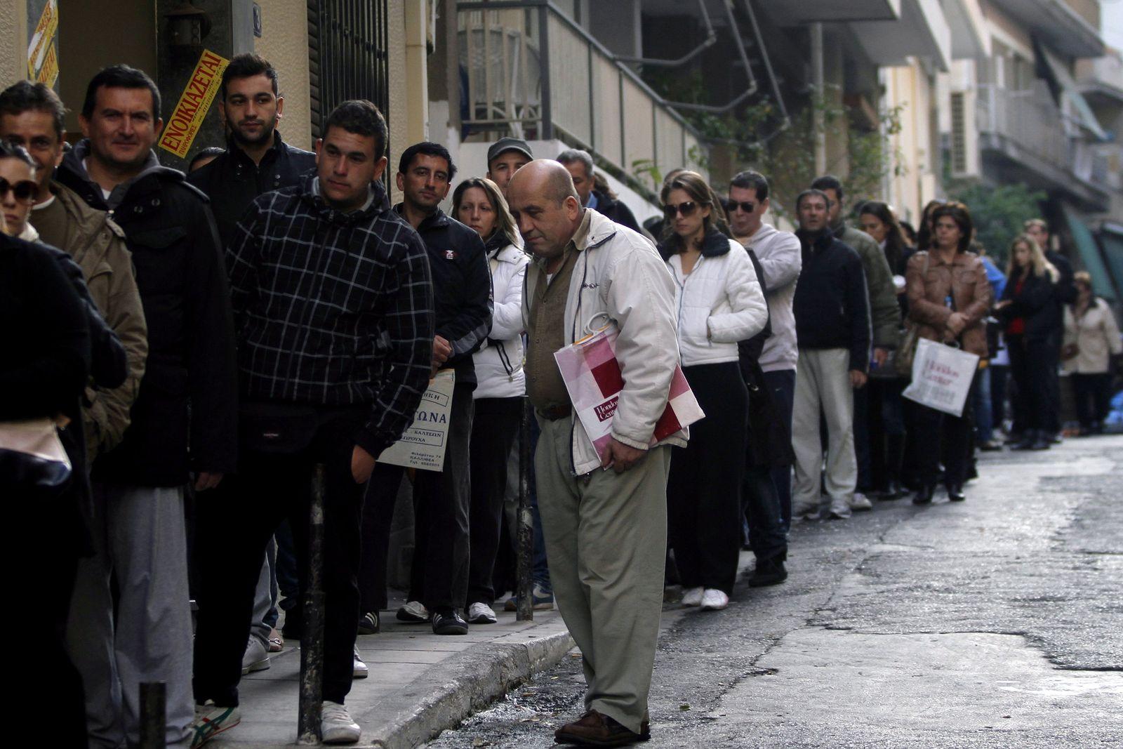 Griechenland/ Arbeitslose