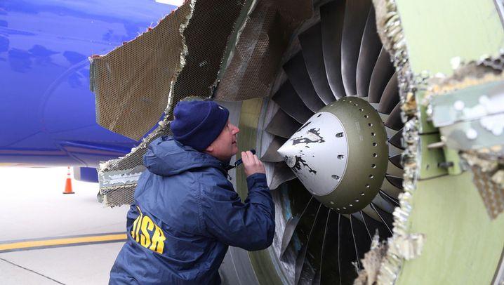Flug Southwest 1380: Gefährlicher Zwischenfall
