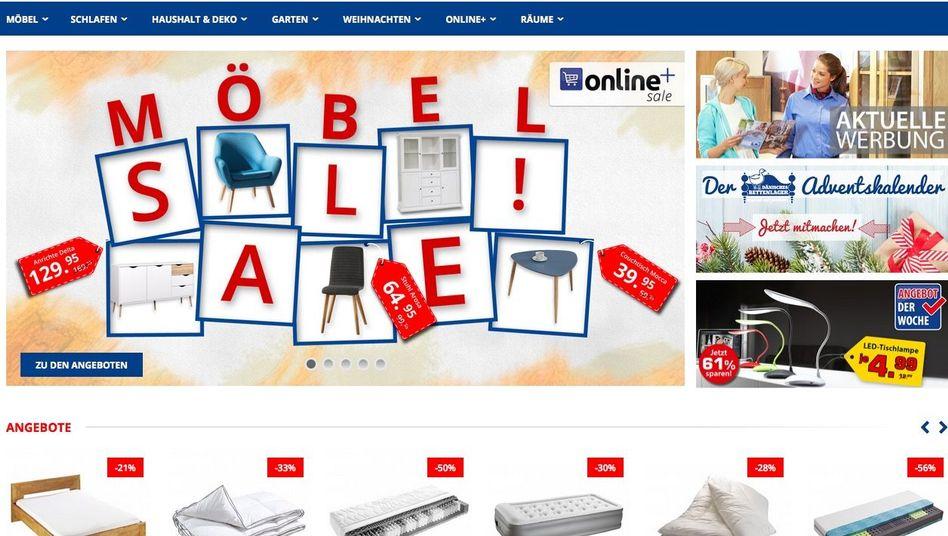 Onlineshop des Dänischen Bettenlagers