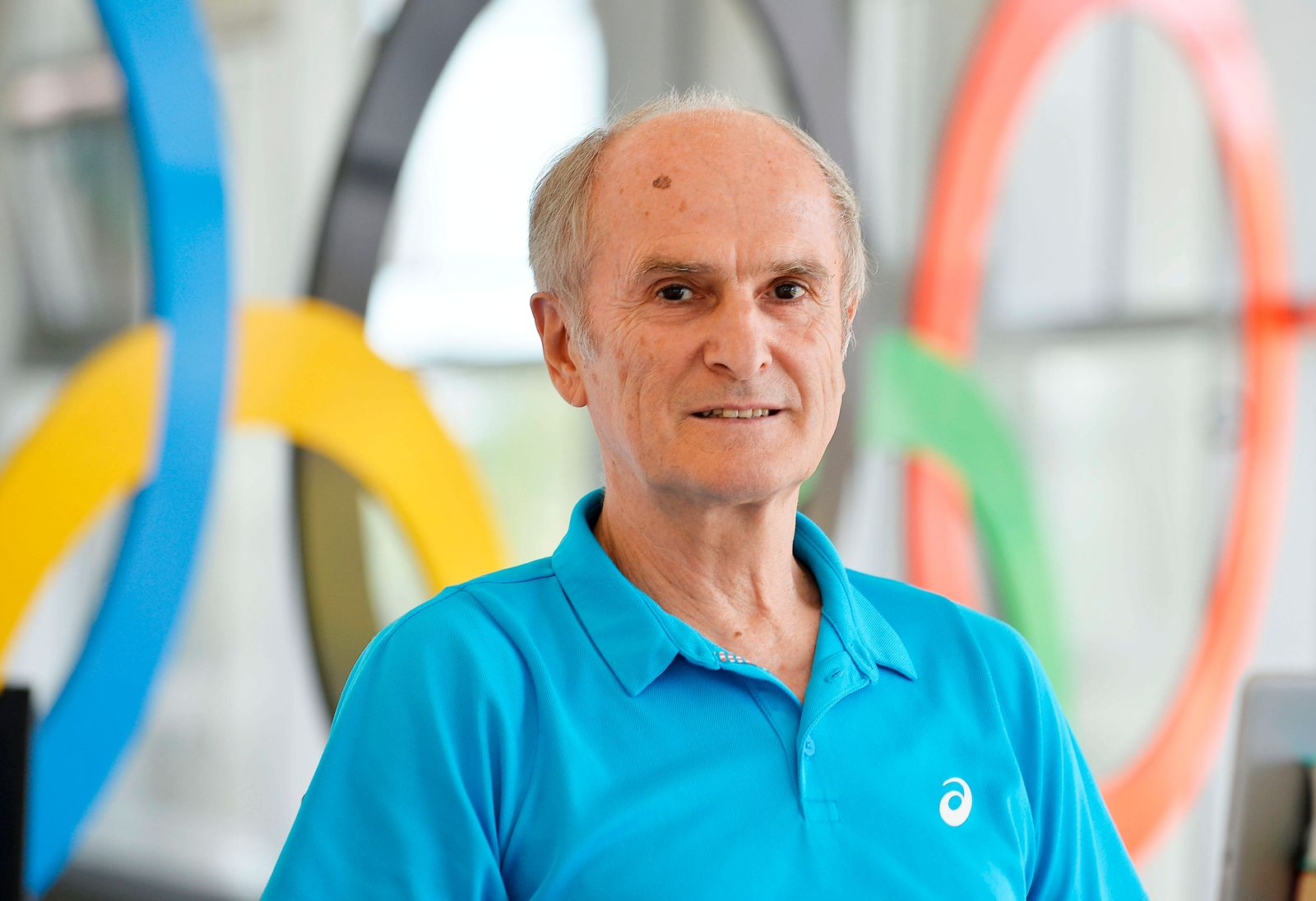 Waldemar Cierpinski (Marathon-Olympiasieger 1976 und 1980) (30.07.2020) Der ehemalige Marathonläufer Waldemar Cierpinsk