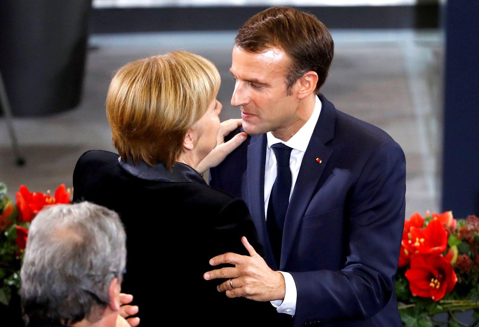 GERMANY-FRANCE/MACRON-BUNDESTAG