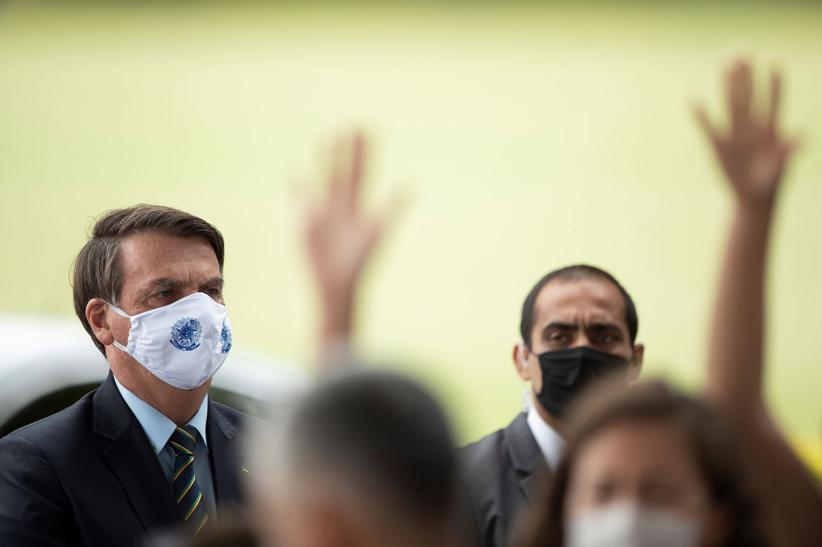 Brazil exceeds 1,000 deaths daily, Brasilia - 20 May 2020