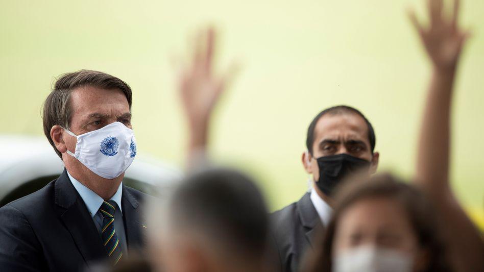 "Brasiliens Präsident Jair Bolsonaro: ""Gratulation an uns alle"""