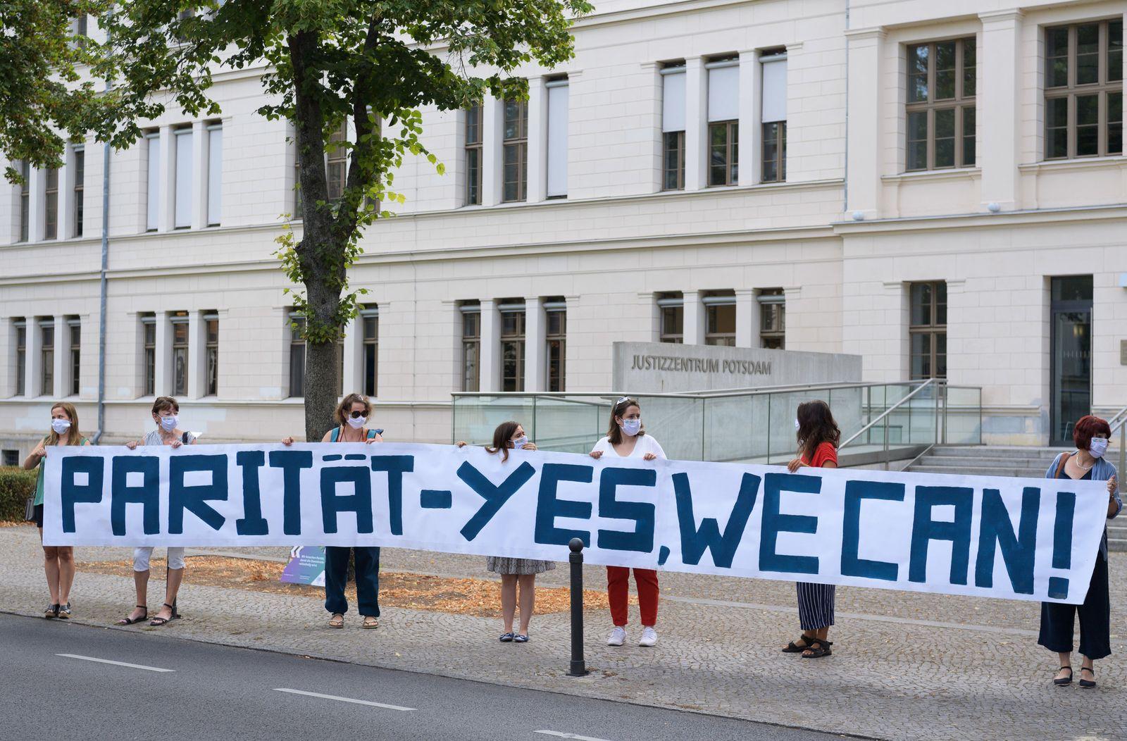 Verfassungsgericht Brandenburg verhandelt Paritätsgesetz
