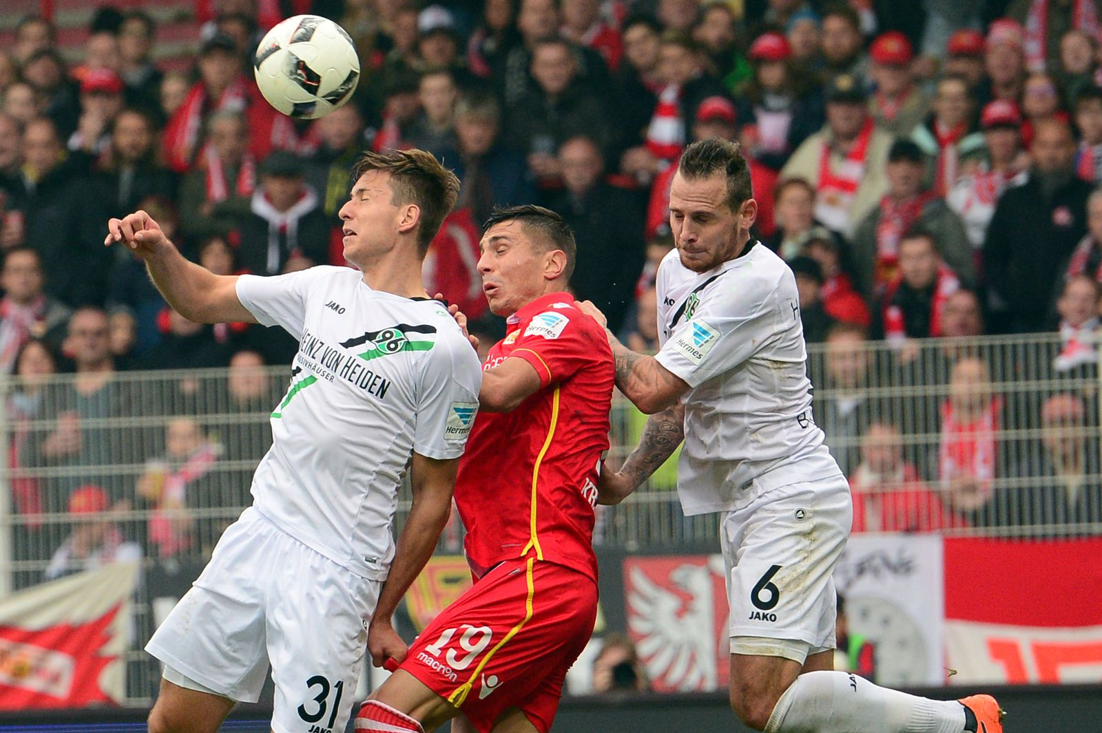 1. FC Union Berlin - Hannover 96
