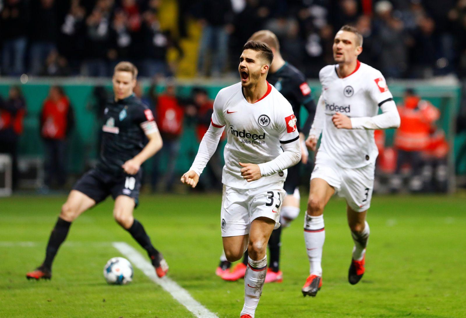 DFB Cup - Quarter Final - Eintracht Frankfurt v Werder Bremen