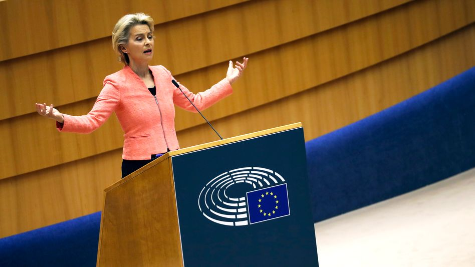 """Ursula von der Leyen: """"Reden wir Europa nicht schlecht"""""""