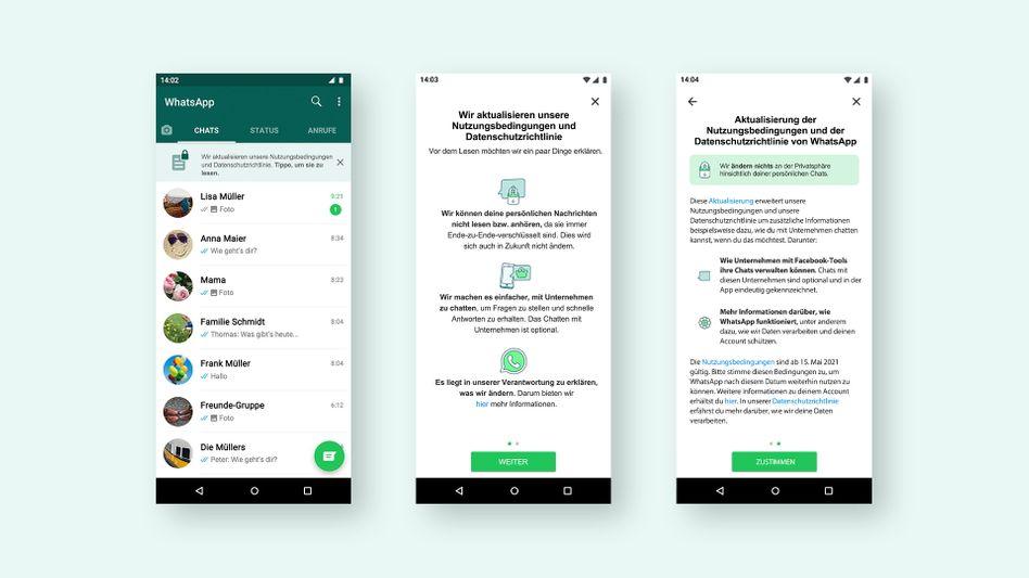Informationen von WhatsApp: Benutzer sollen sich »in ihrem eigenen Tempo informieren«