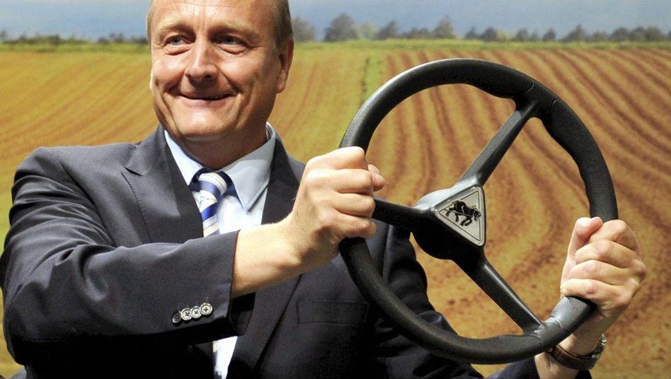 Joachim Rukwied nach seiner Wahl: Der 50-Jährige gilt als Hardliner